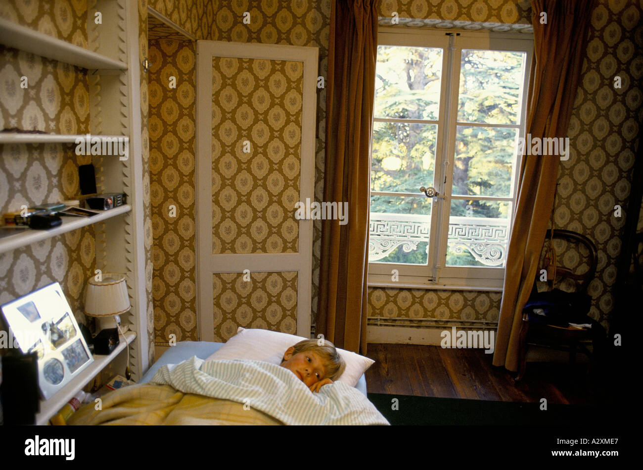 The school has an annex at Saveterre Chateau near Toulouse, France wher pupils go in their final year to learn French. - Stock Image