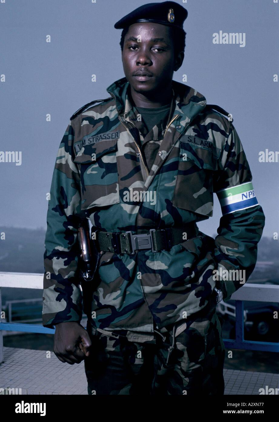 Captain Valentine Strasser 27 Leader Of The Provisional Ruling