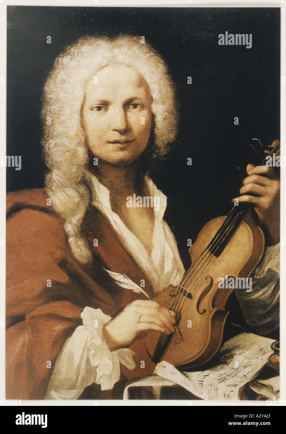 Antonio Vivaldi Anon - Stock Image