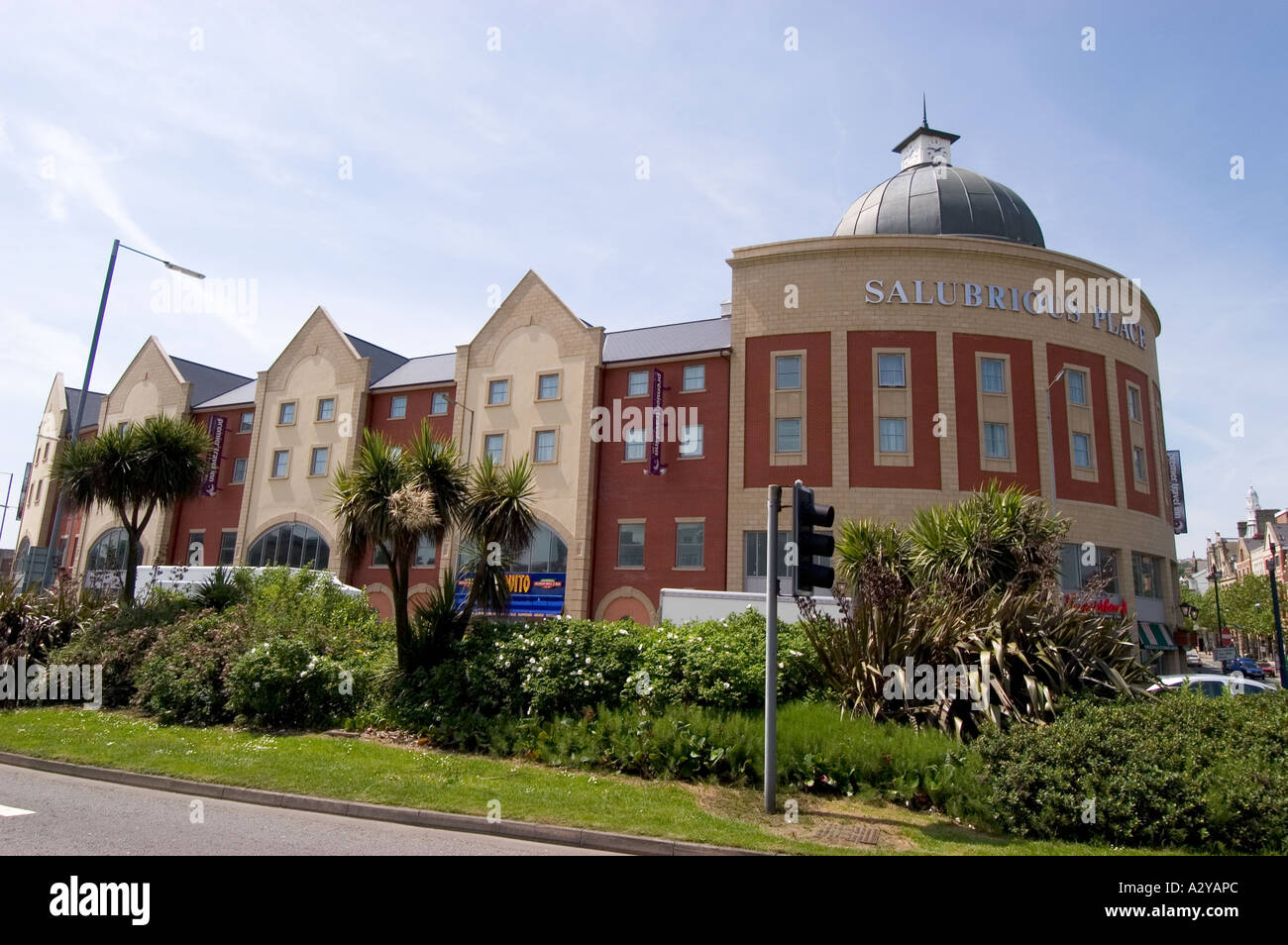 Salubrious Place Restaurant and Entertainment Development Swansea South Wales - Stock Image