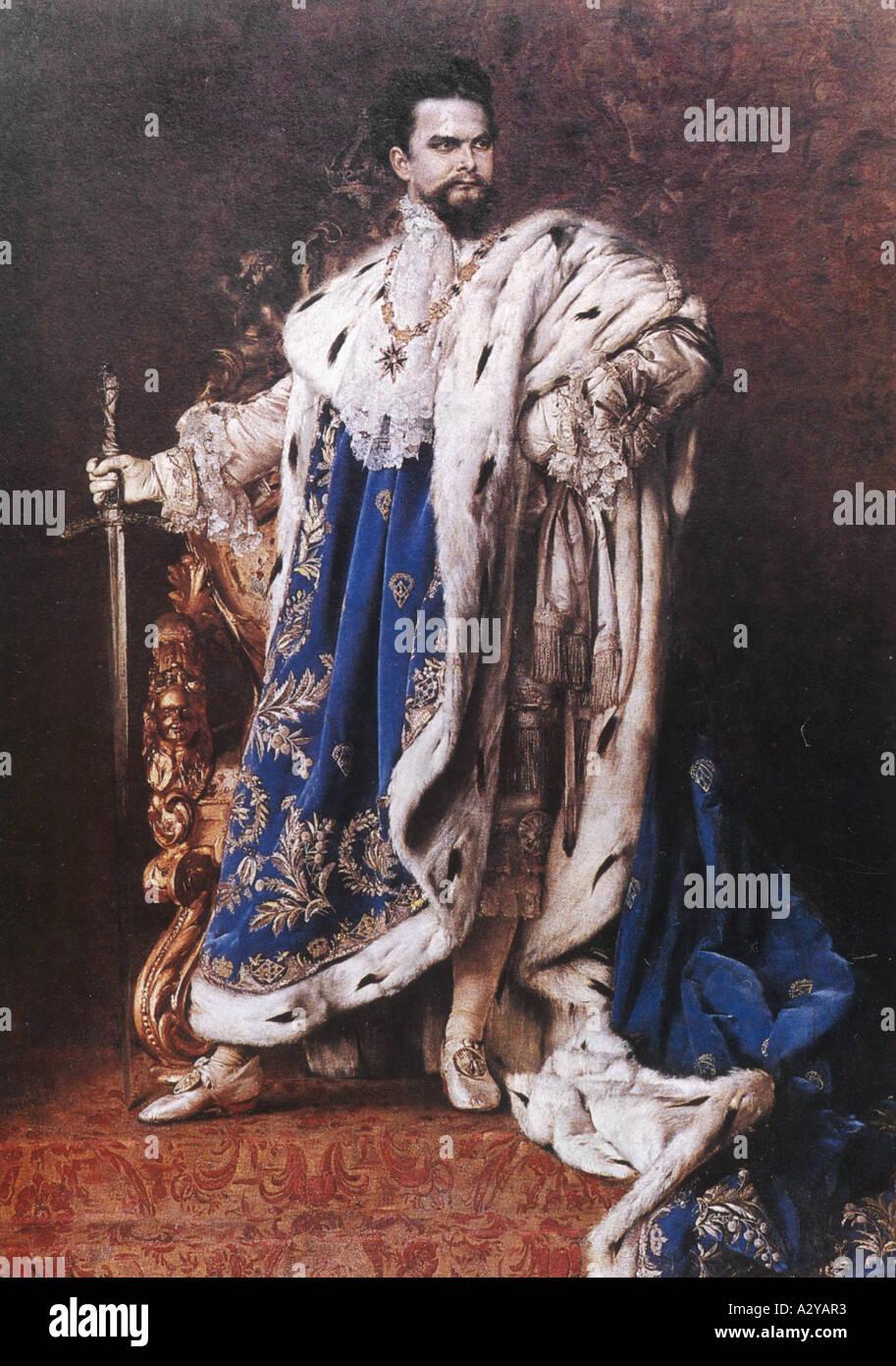 Ludwig Ii Schachinger - Stock Image