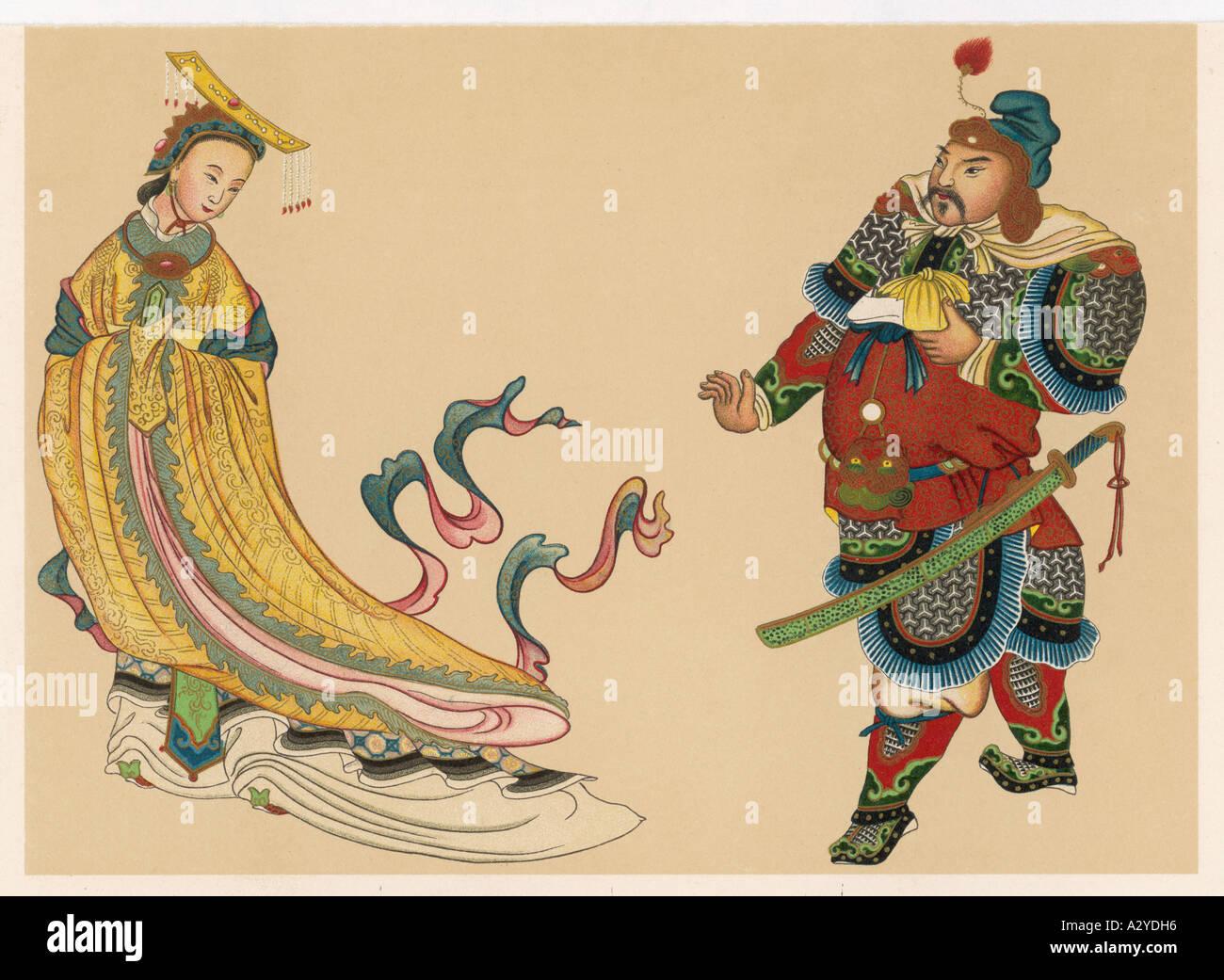 Wu Tse Tien Empress - Stock Image