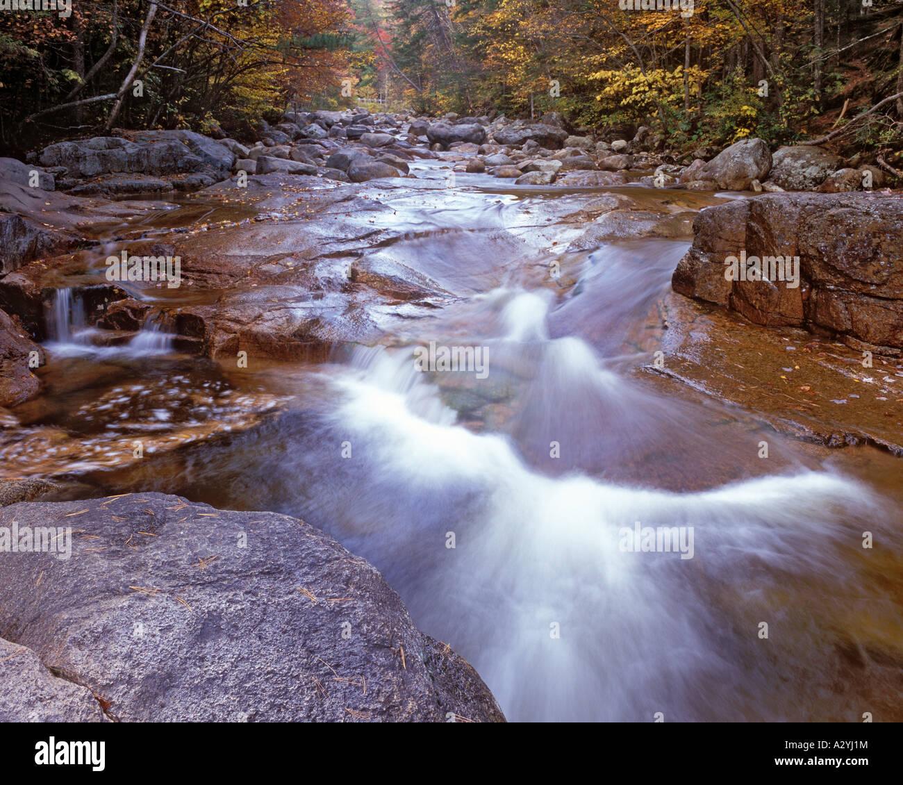 Otter Rocks in autumn Stock Photo