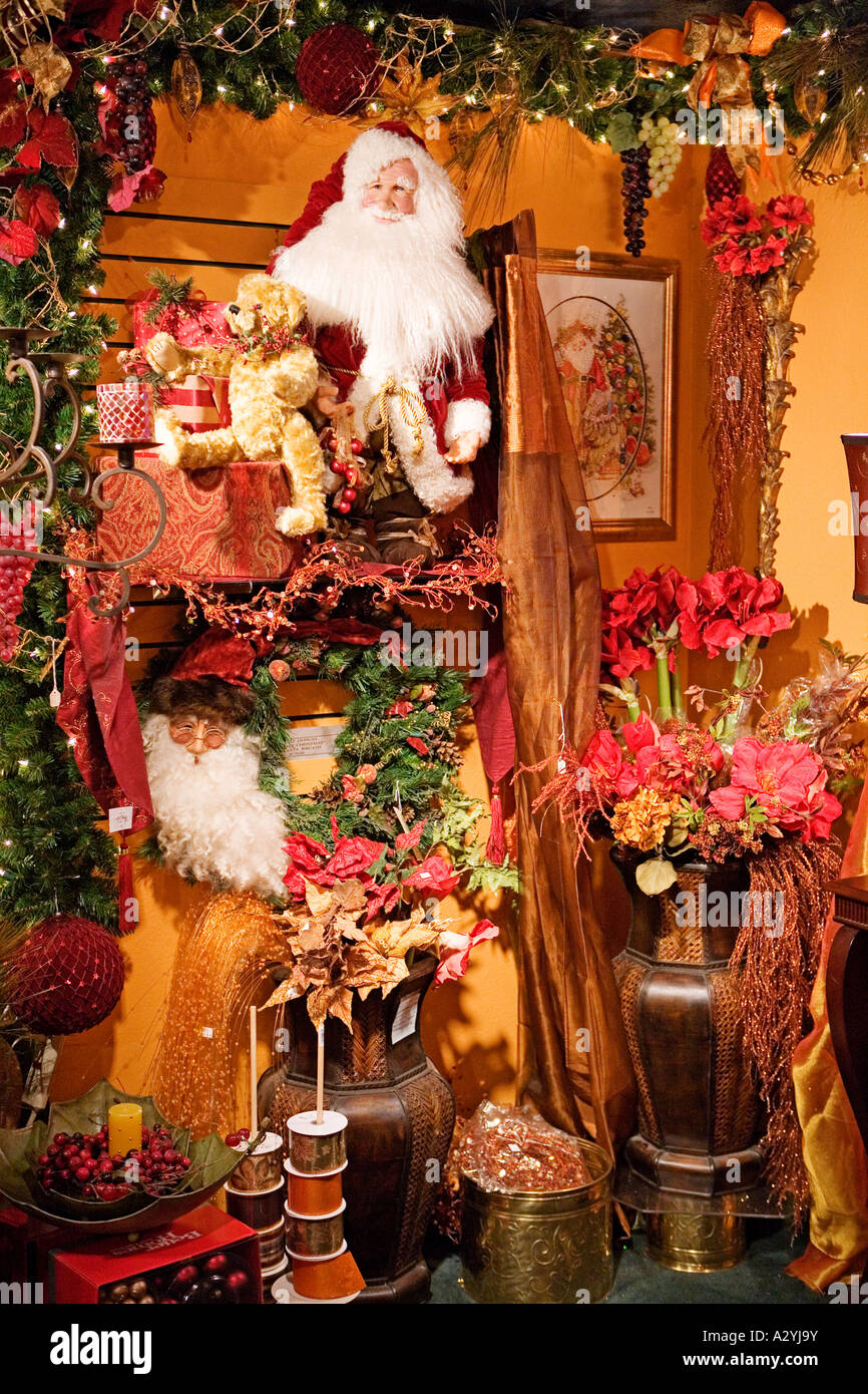 Image of an old fashioned Christmas display Stock Photo: 10621526 ...