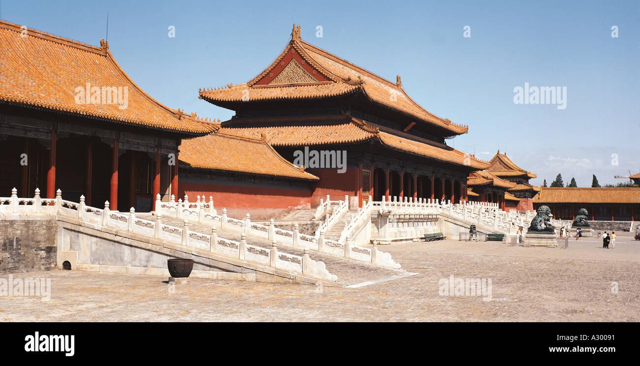Forbidden City China - Stock Image