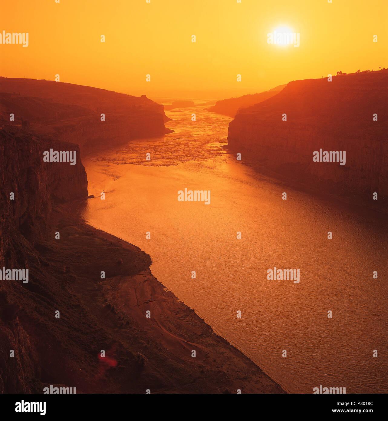 Yangtze River China - Stock Image
