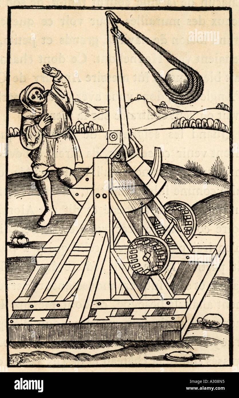 Catapult C15 - Stock Image