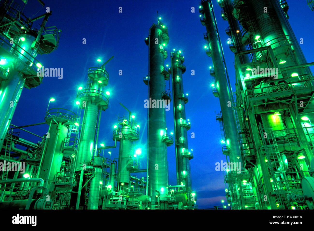 refinery - Stock Image