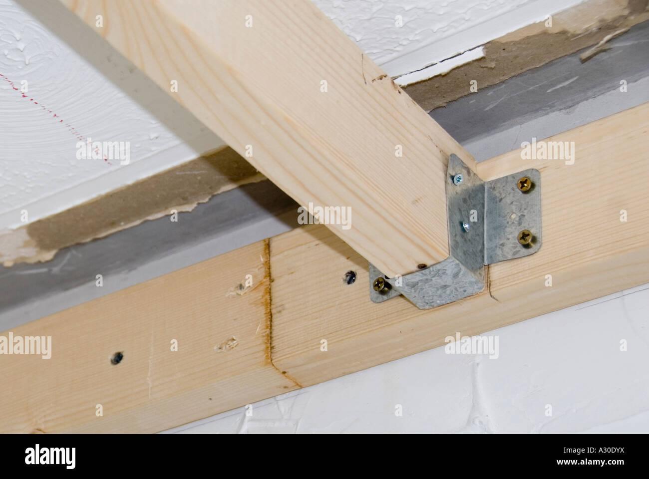 A Pressed Galvanised Steel Metal Bracket Used In Making A