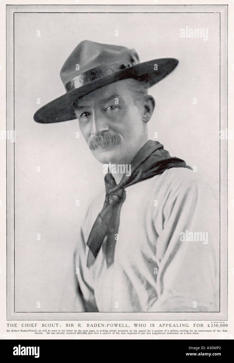 Baden Powell Hw Barnett - Stock Image