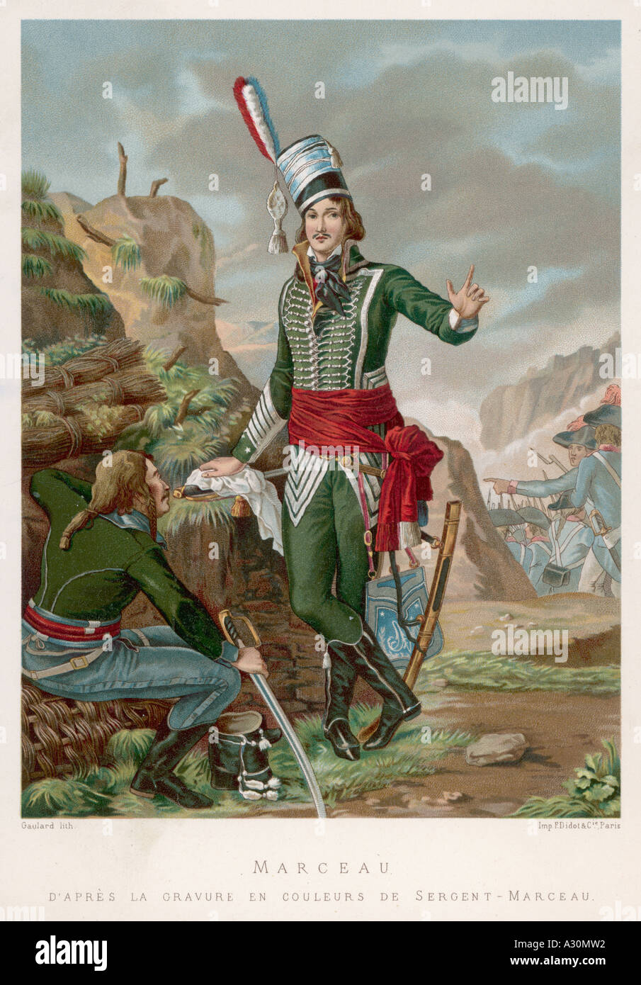 F S Marceau Desgraviers - Stock Image