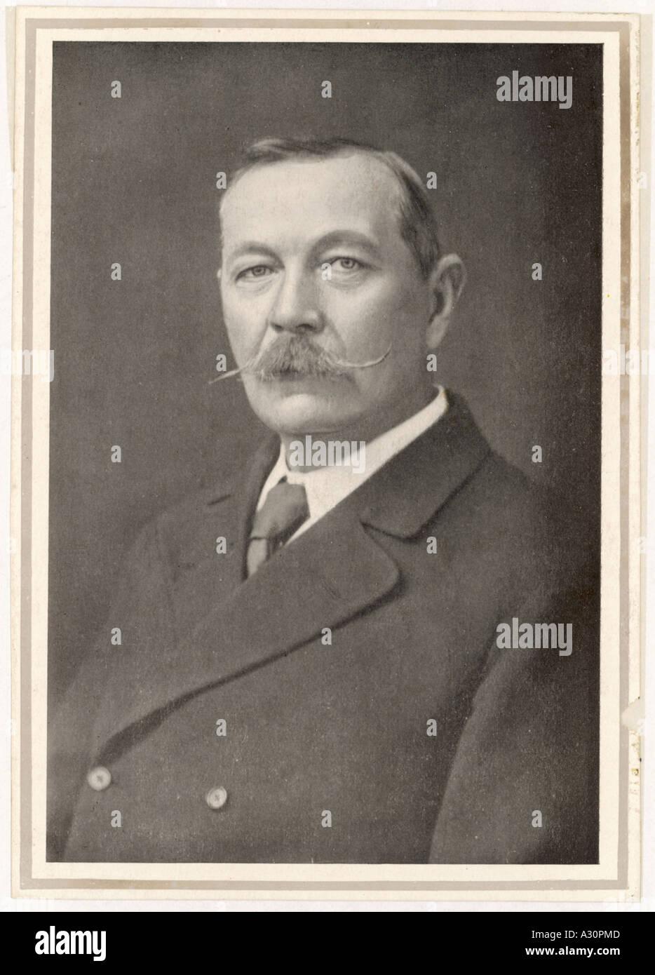 Conan Doyle Photo C 1908 - Stock Image