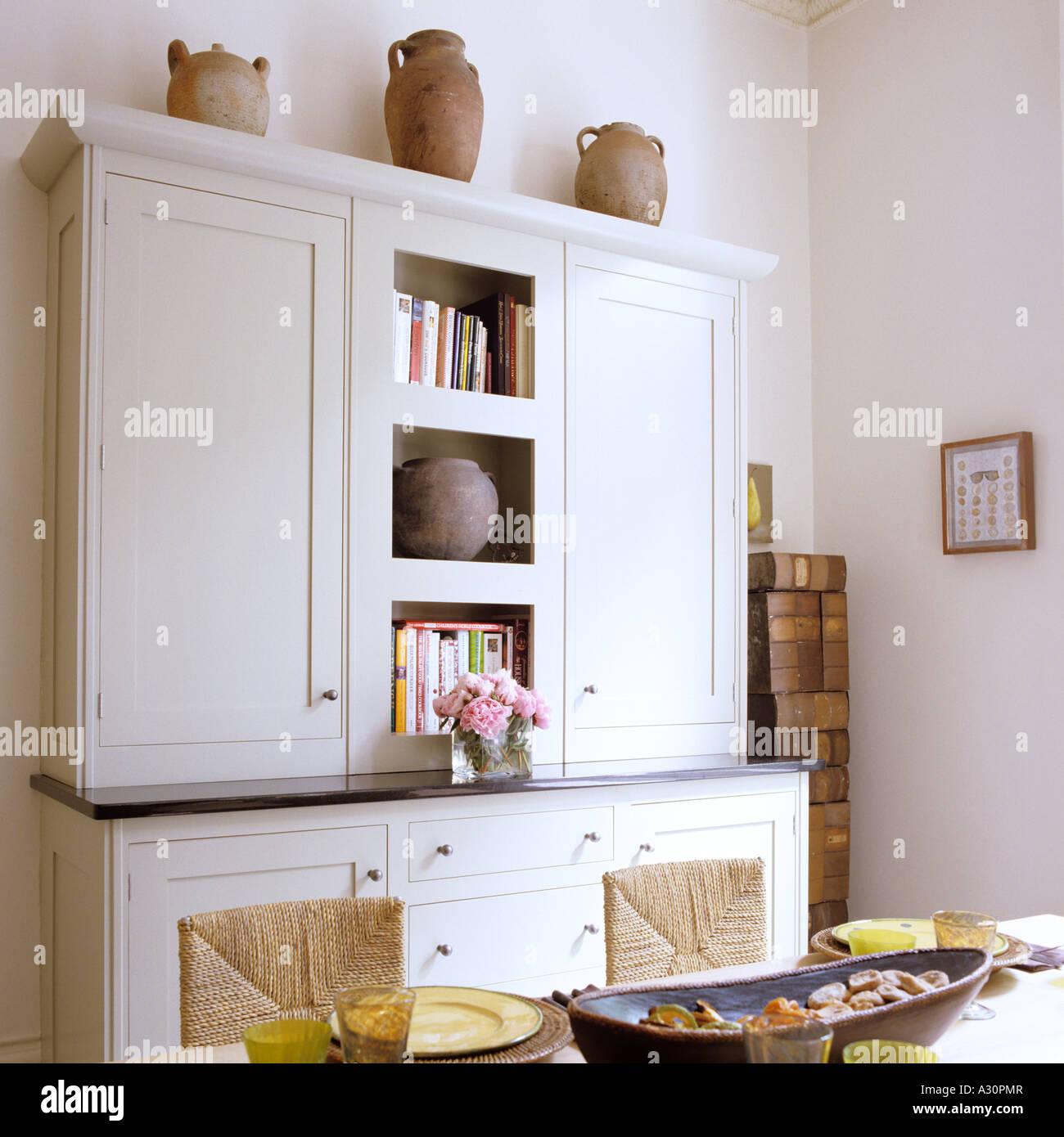 Interiors Furniture Kitchen Dresser Stock Photos & Interiors ...