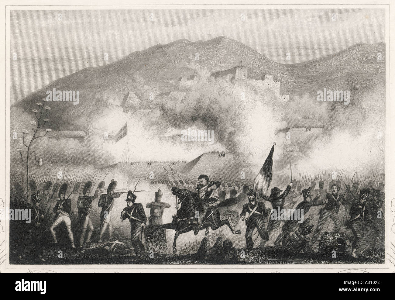 Torres Vedras 1810 - Stock Image