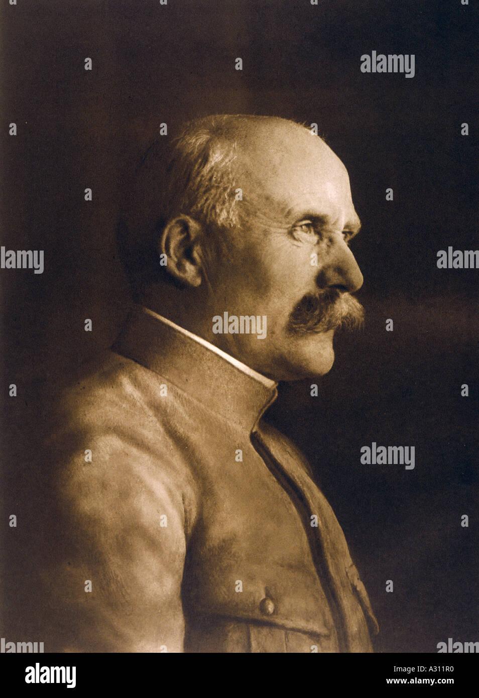 Marshal Petain Ils 1917 - Stock Image
