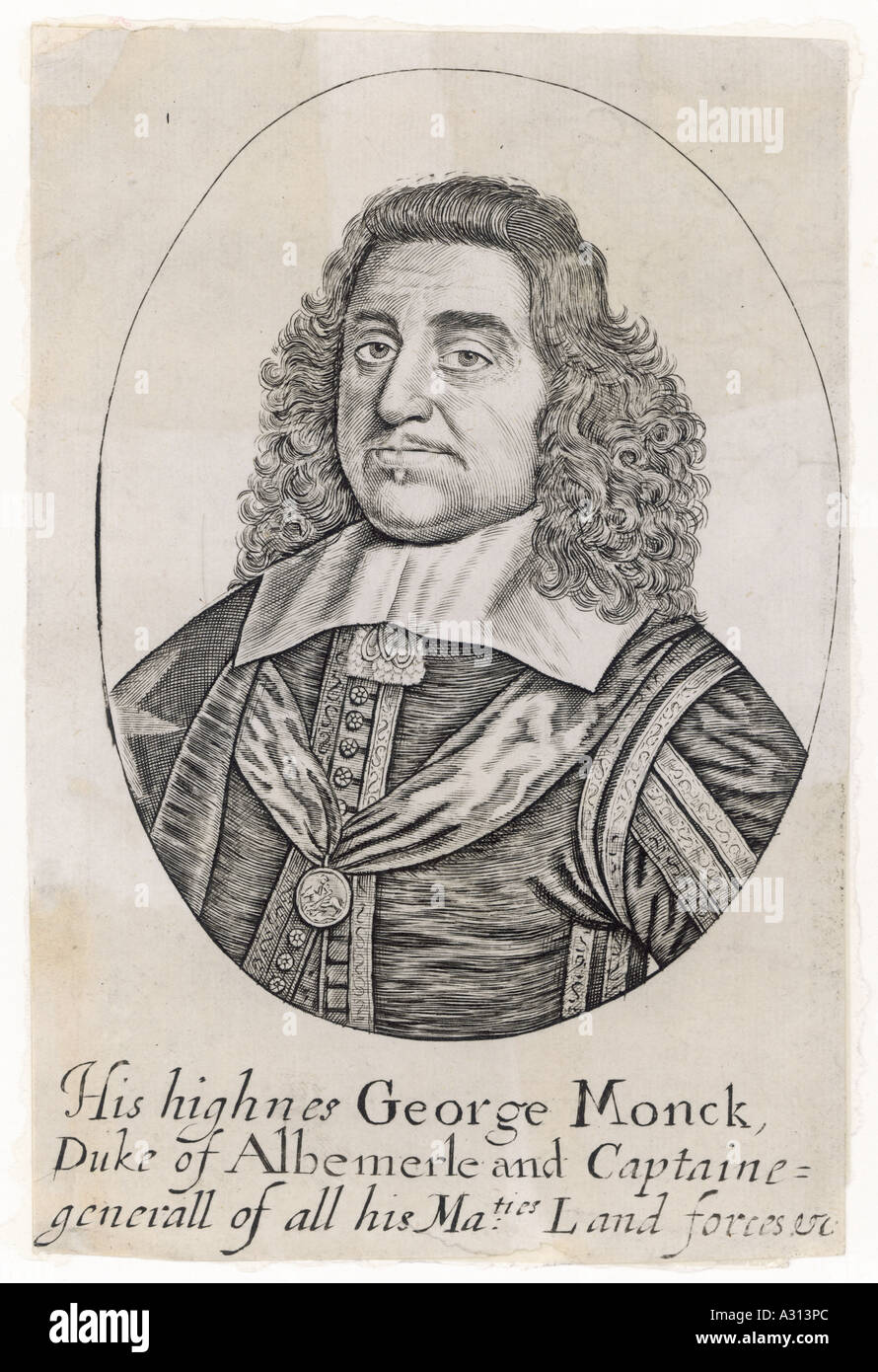 George Monck Anon - Stock Image