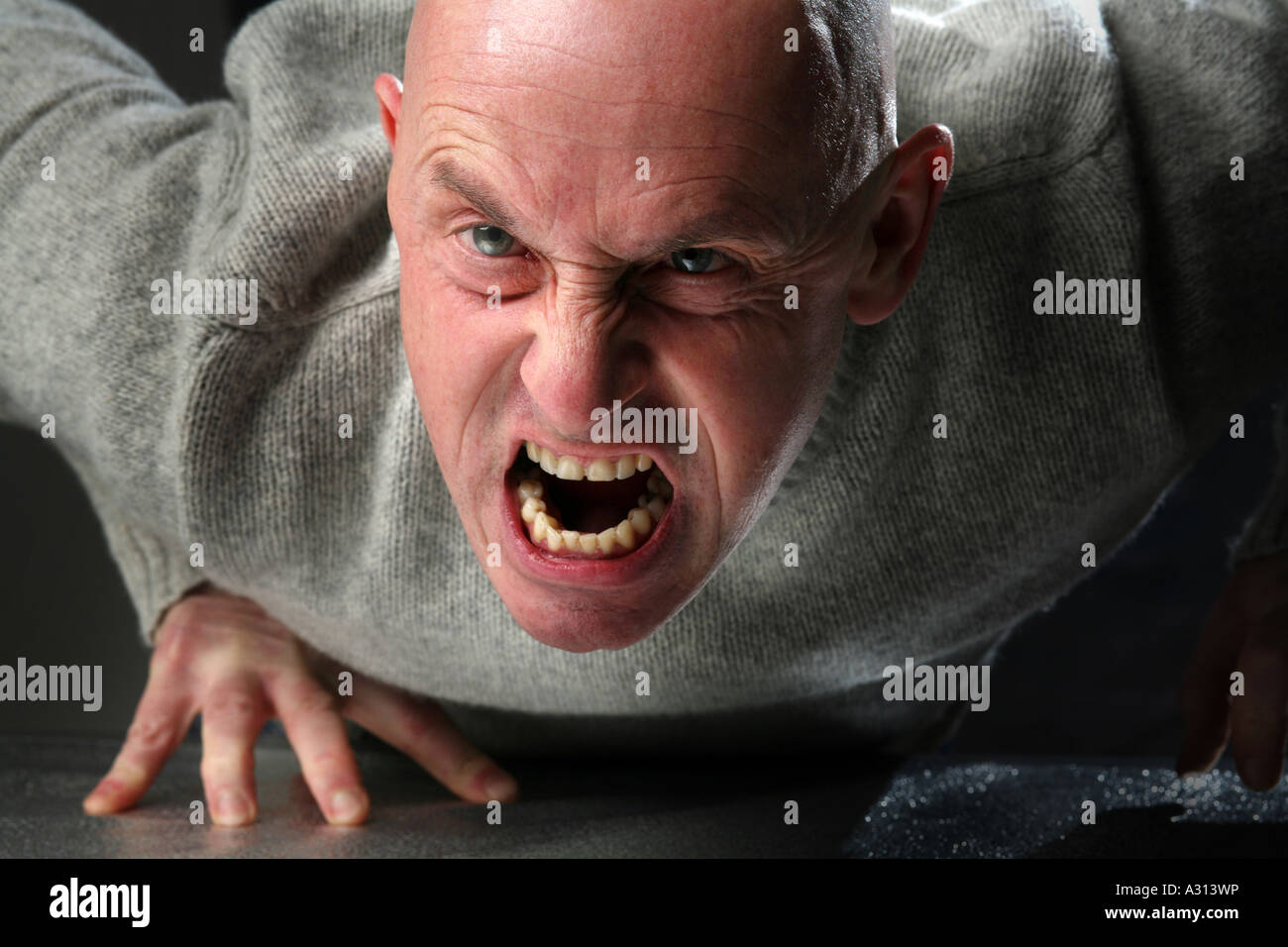 Character Actor Roland Nichols - Stock Image