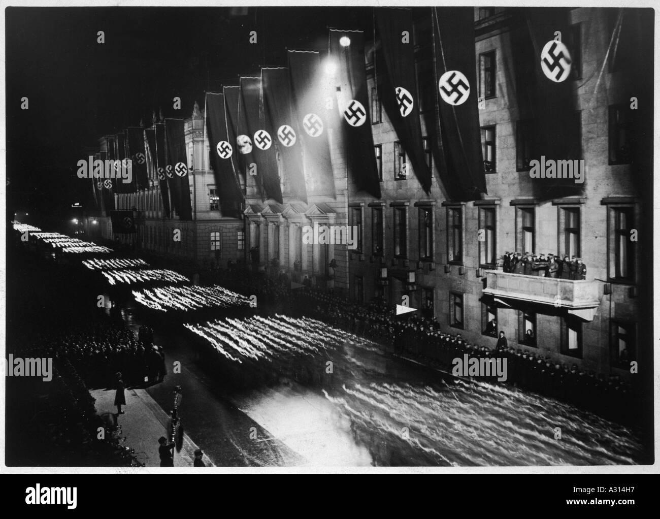 Hitler Wilhelmstrasse Stock Photo