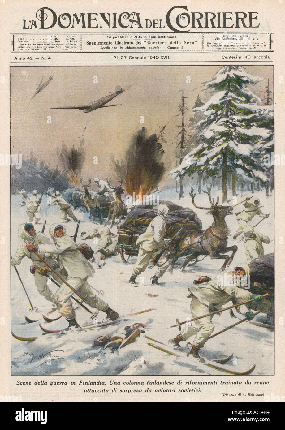Soviet Air Attack - Stock Image