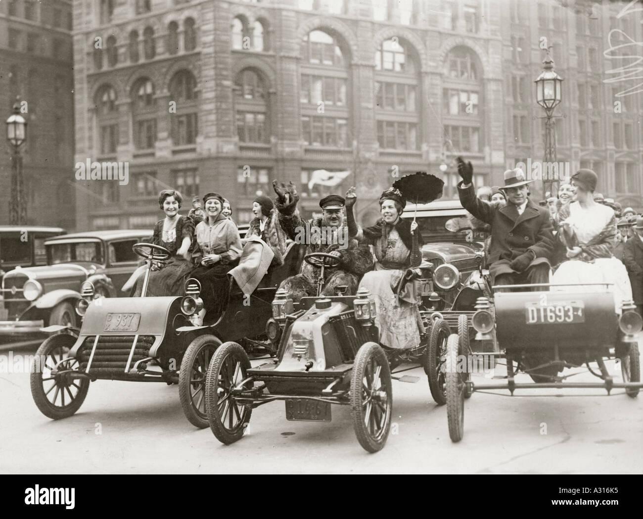 London Brighton Vintage Car Run Stock Photos & London Brighton ...