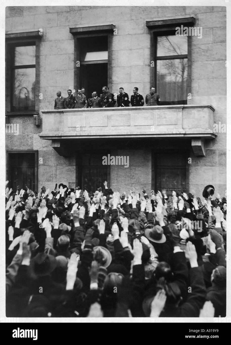 Hitler Wilhelmstrasse - Stock Image