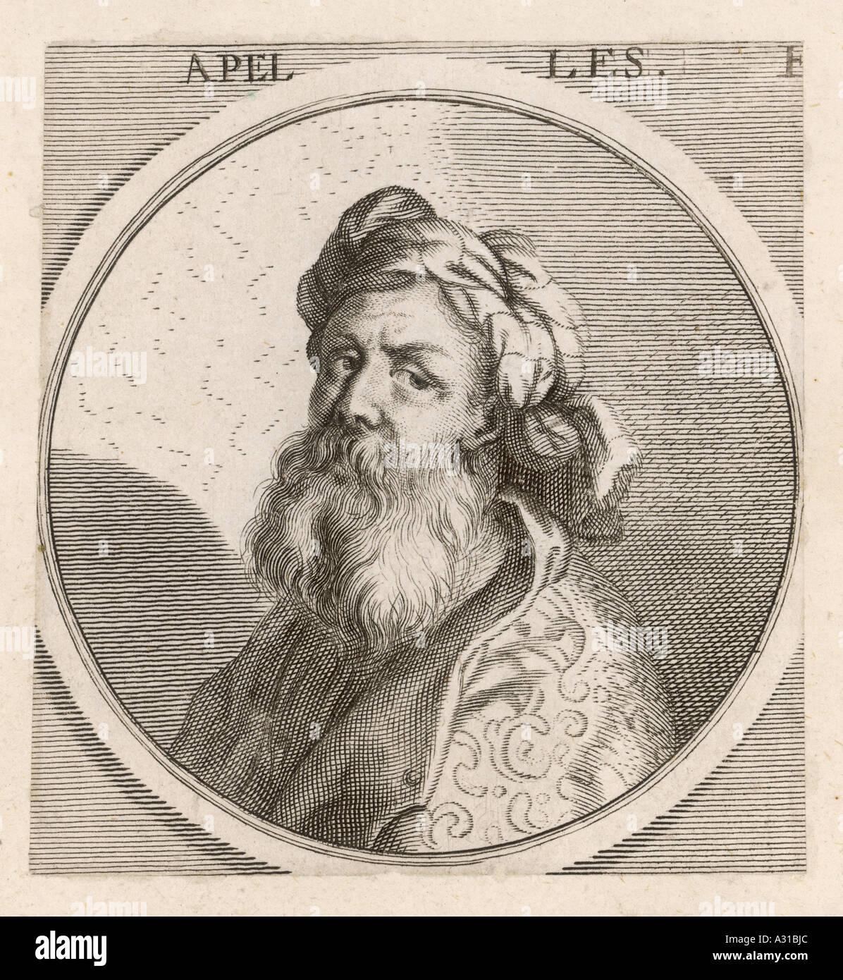 Apelles  Heretic - Stock Image