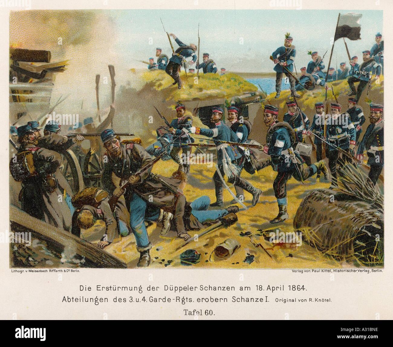 Danish Prussian War - Stock Image