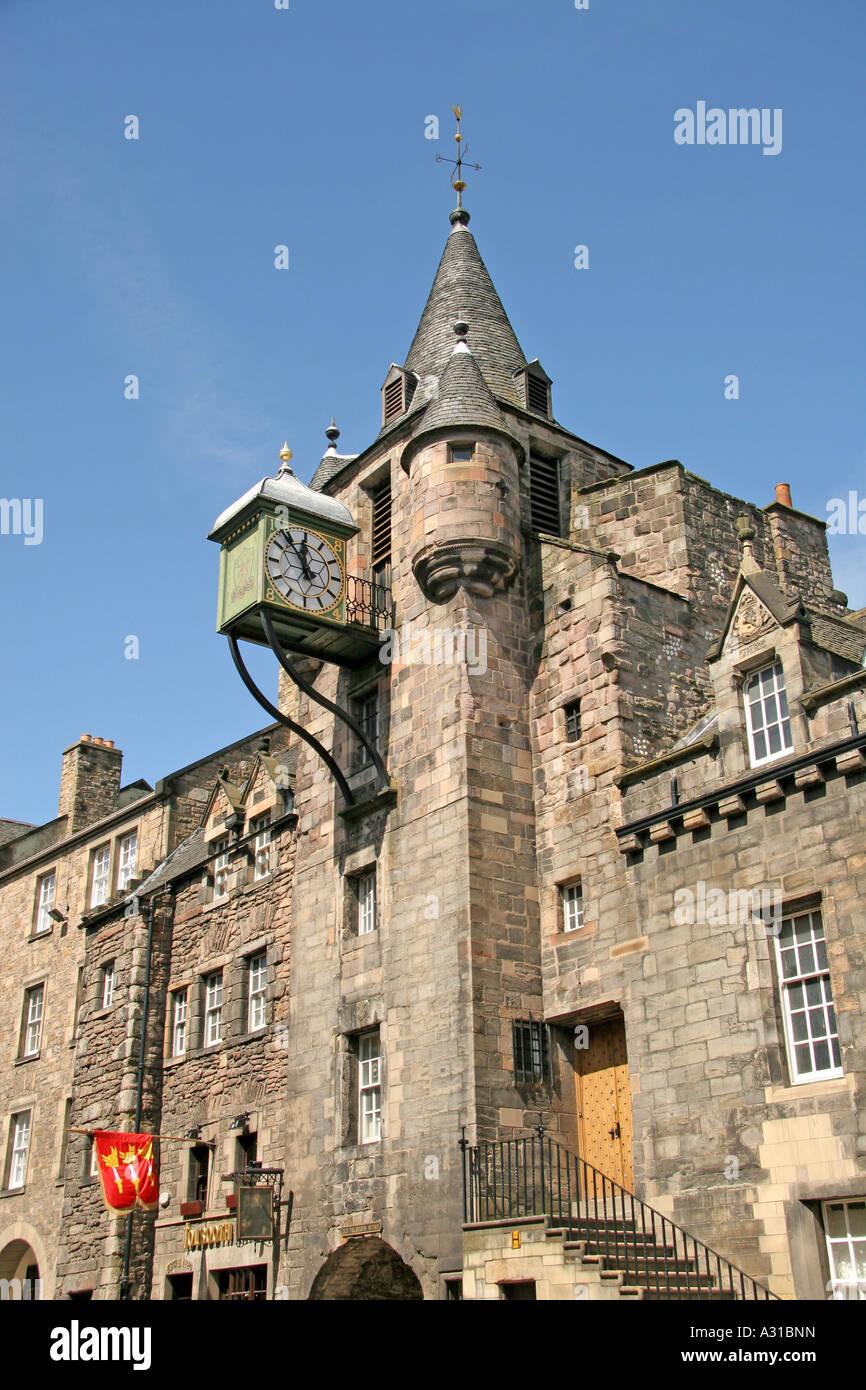 Old Tollbooth, Royal Mile, Canongate, Edinburgh, Scotland Stock Photo