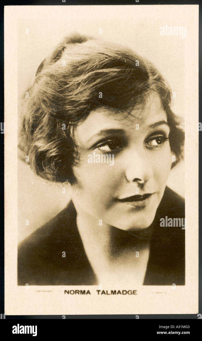 Norma Talmadge Collector - Stock Image