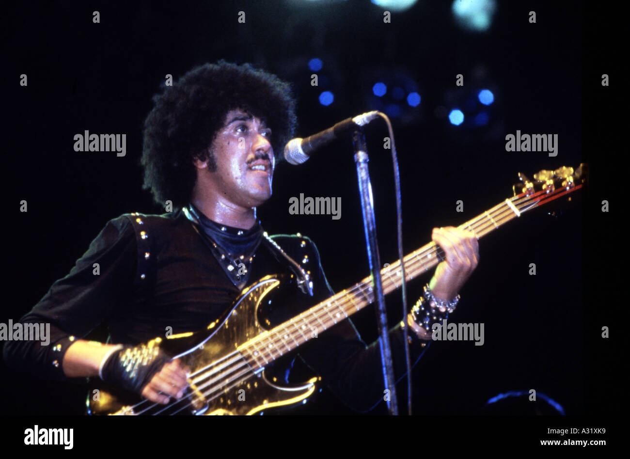 THIN LIZZY - Phil Lynott - Stock Image