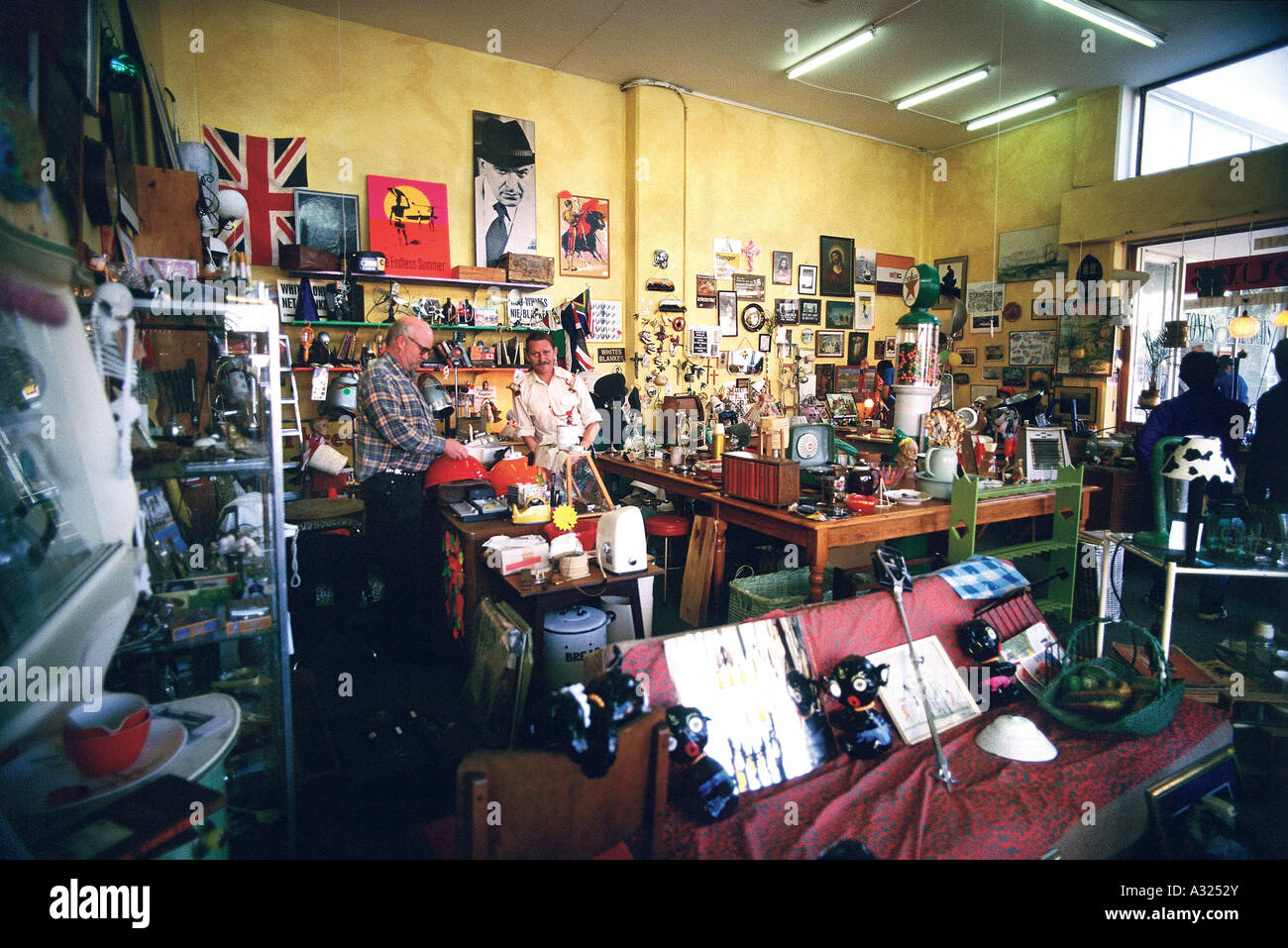 Collectibles Shop, Kloof Street, Cape Town, South Africa - Stock Image
