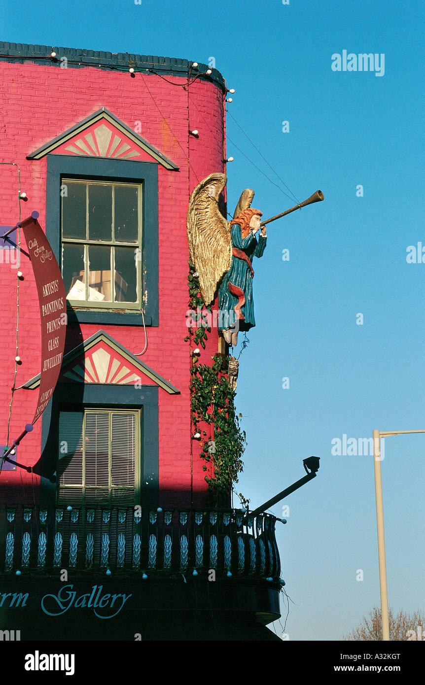 Chalk Farm Gallery, Camden Town, London, United Kingdom - Stock Image