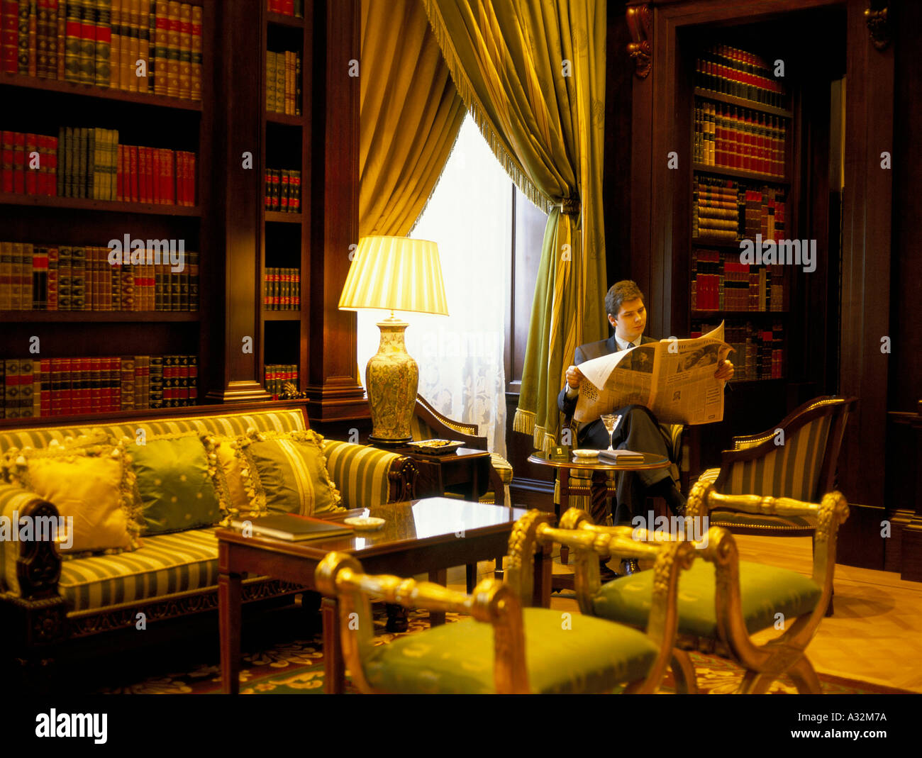 lanesborough hotel Stock Photo
