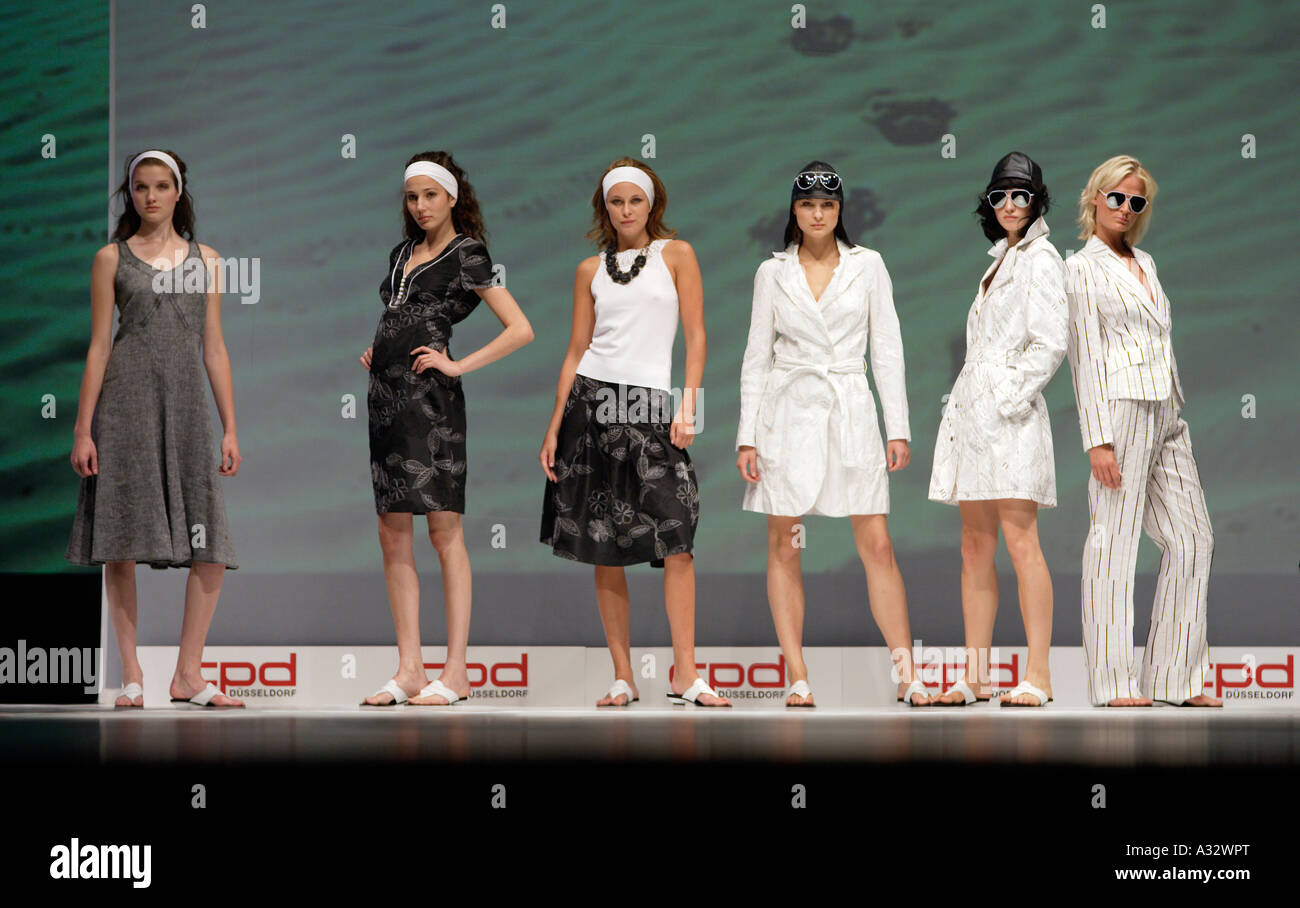 The fashion show Collections Premieres Duesseldorf - CPD, Duesseldorf, Germany - Stock Image