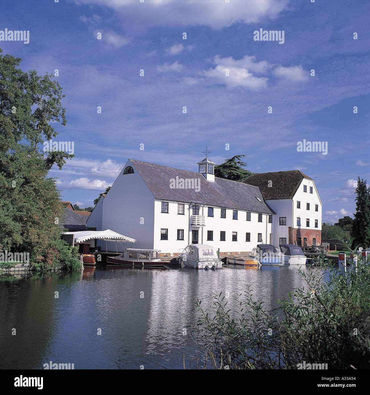 Hambleden Mill - Stock Image
