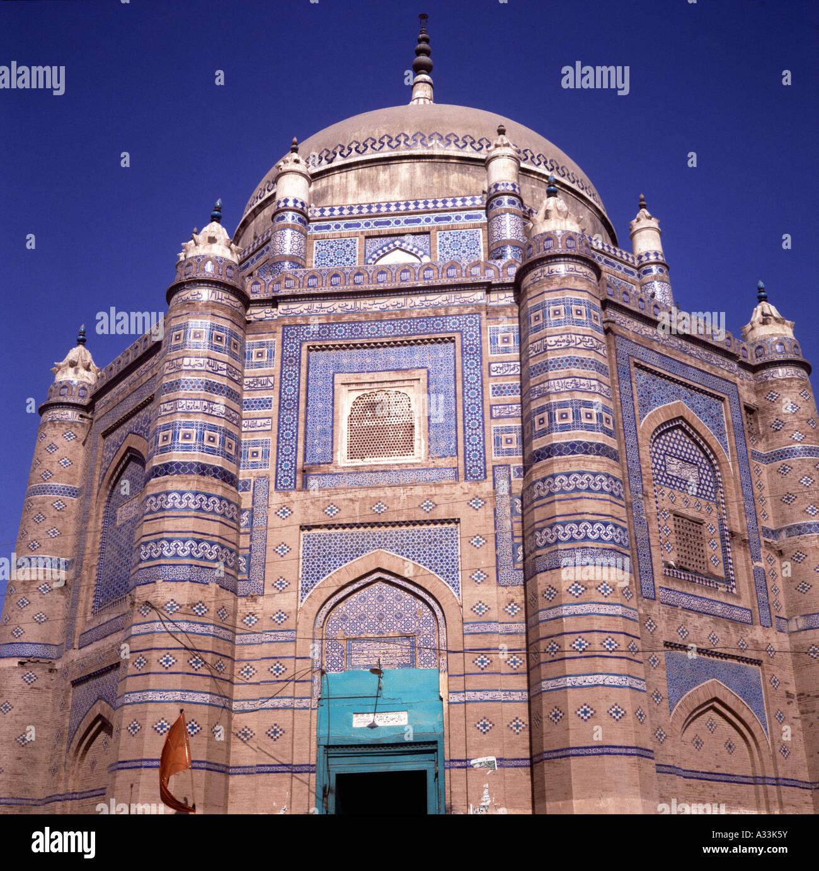 Mausoleum of Sultan Ali Akbar, Multan, Pakistan - Stock Image