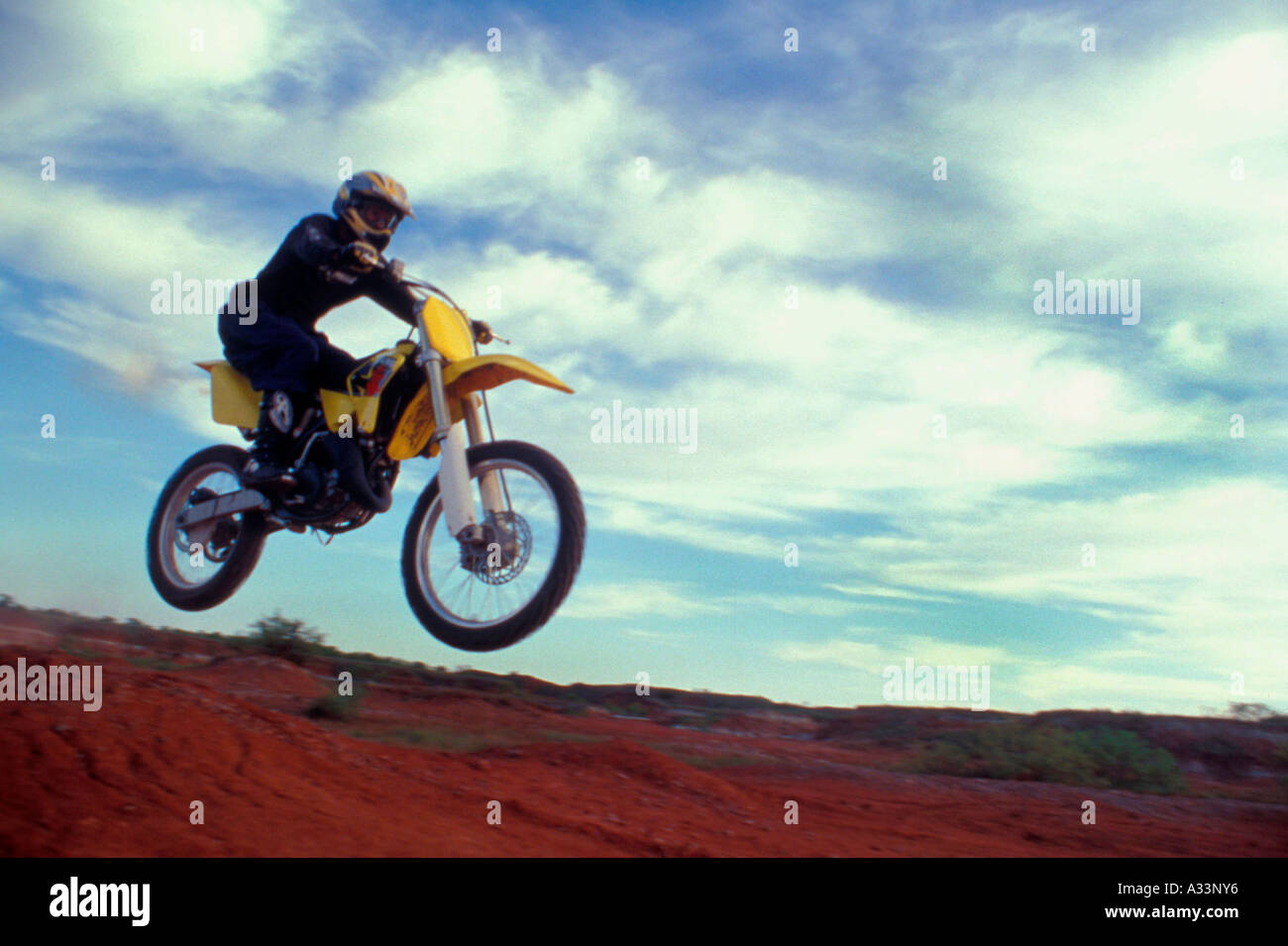 Motocross racing MR802 - Stock Image