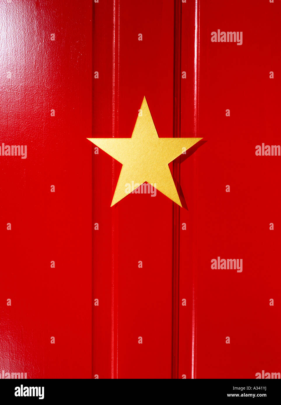 Star on dressing room door Stock Photo: 10663061 - Alamy