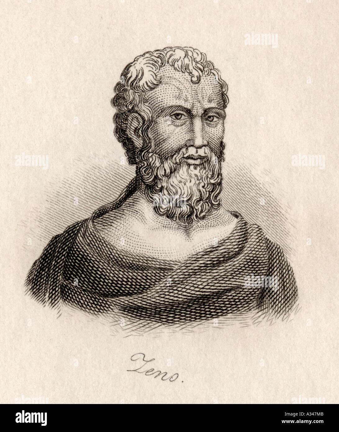 Zeno of Citium 336 264 Philosopher from Cyprus - Stock Image