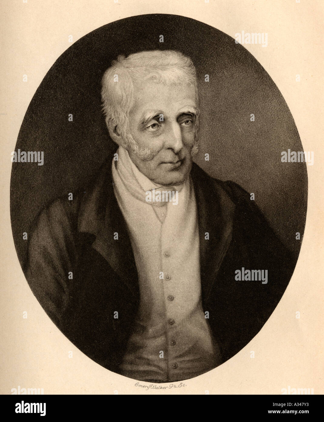 Arthur Wellesley, 1st Duke of Wellington, 1769 - 1852. British soldier and statesman. - Stock Image