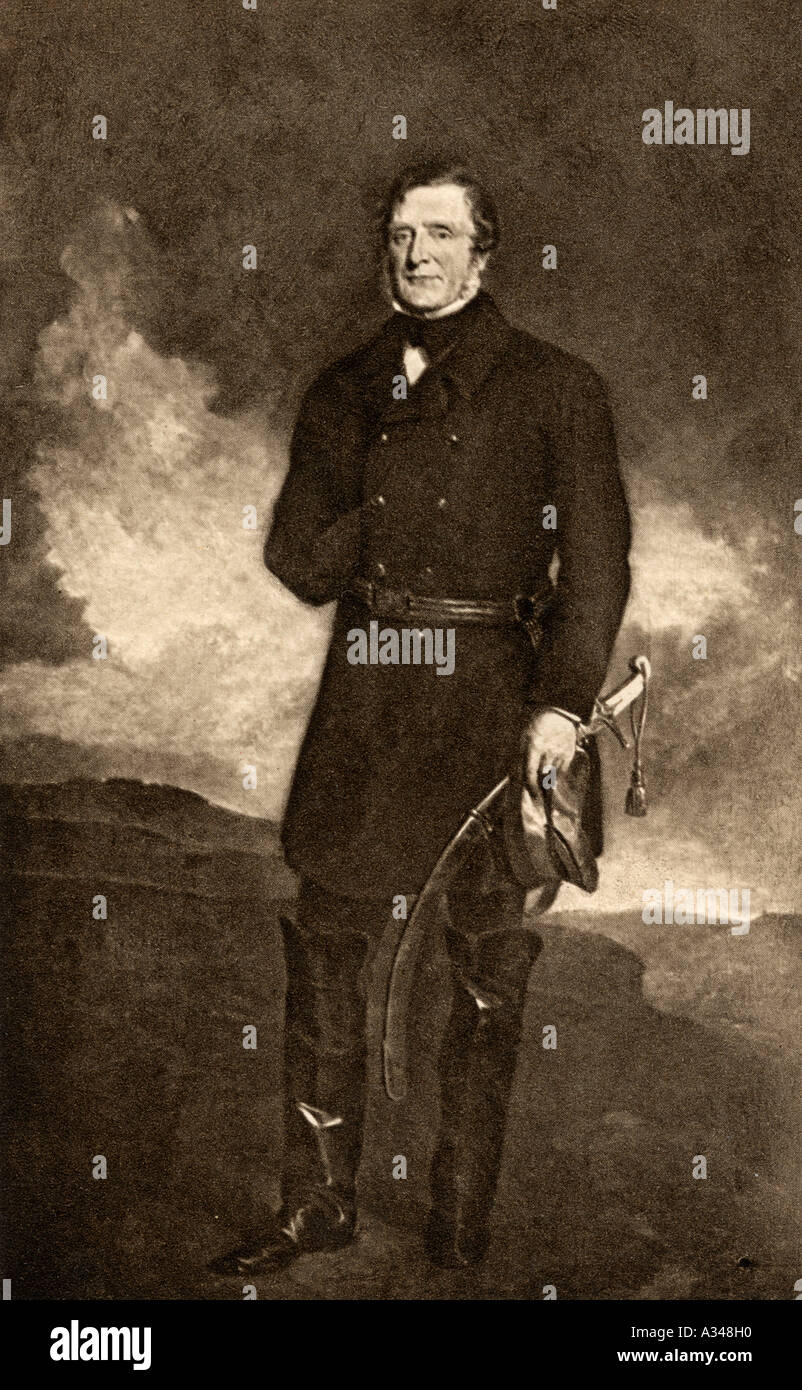 James Henry Somerset Fitzroy 1st Baron Raglan 1788 1855 English soldier and commander in chief during the crimean war - Stock Image