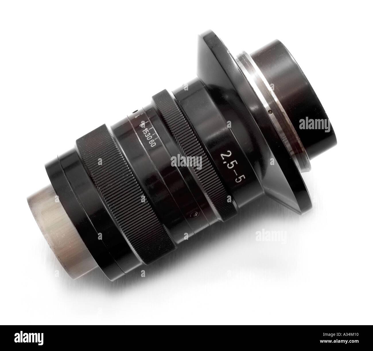 Zeiss Luminar macro zoom lens - Stock Image