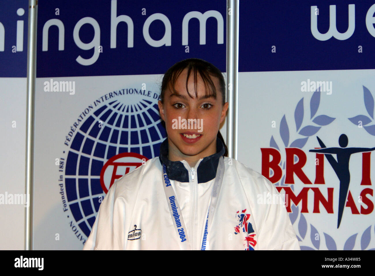elizabeth tweddle british number one female gymnast Stock Photo