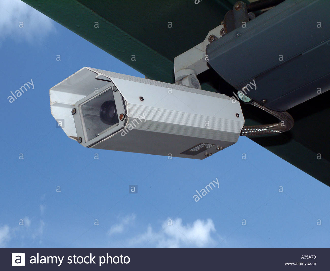 closed circuit television - Stock Image