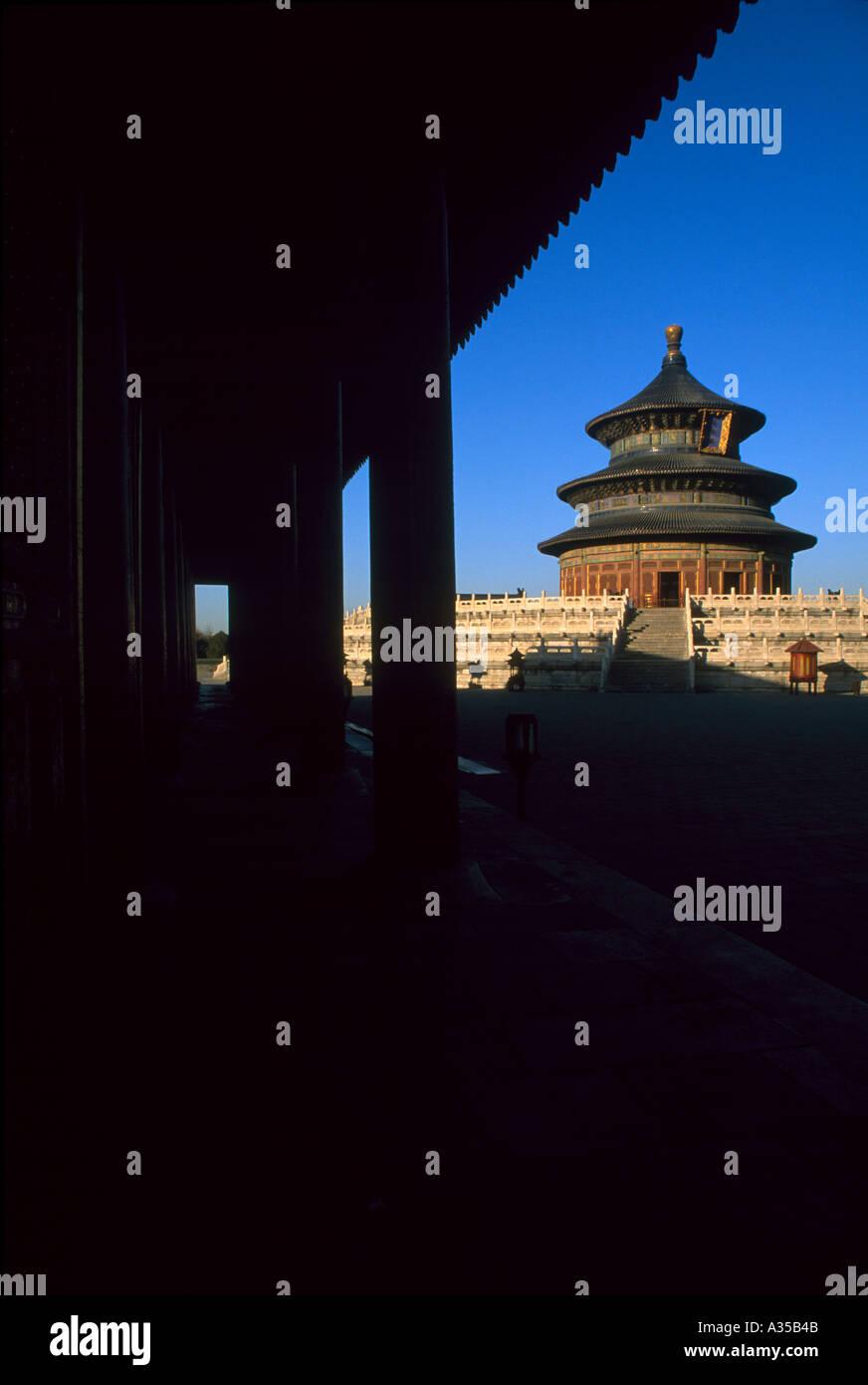 Temple of Heaven Beijing 2 - Stock Image