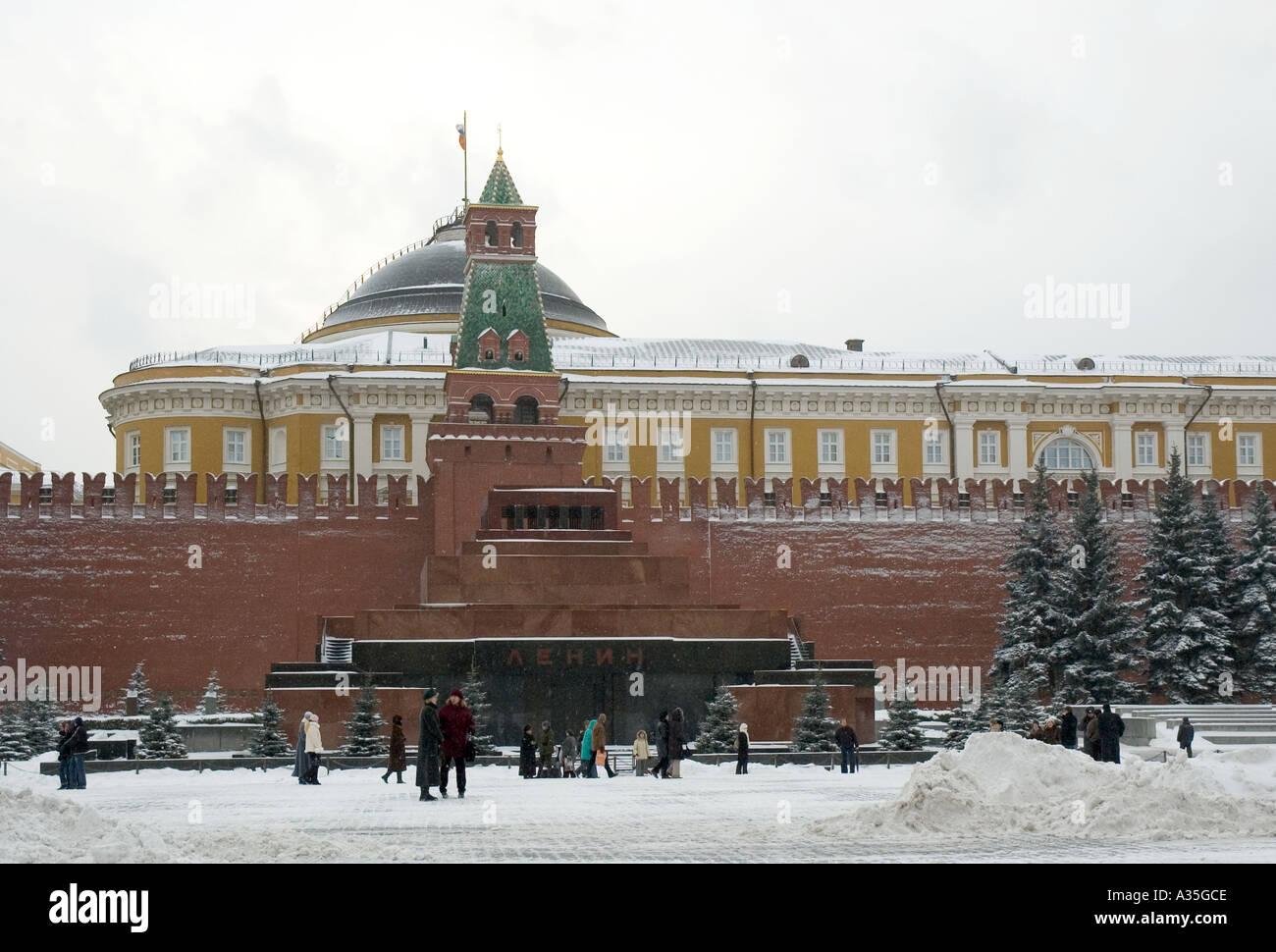The Kremlin in Winter - Stock Image