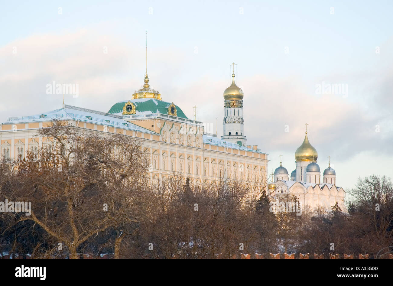 The Kremlin in Moscow - Stock Image