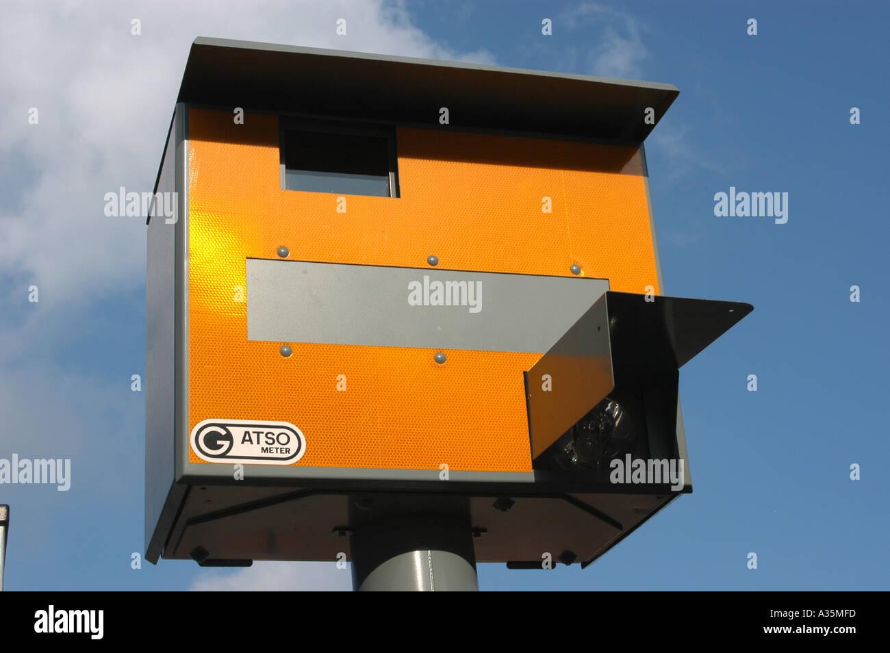Gatso Speed camera London UK - Stock Image