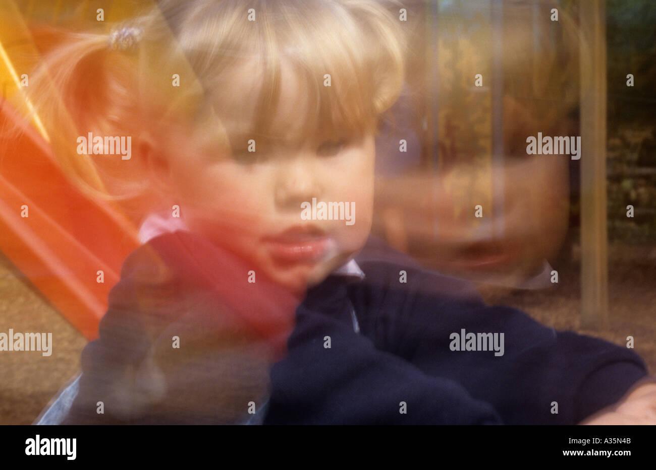 Small child uk - Stock Image