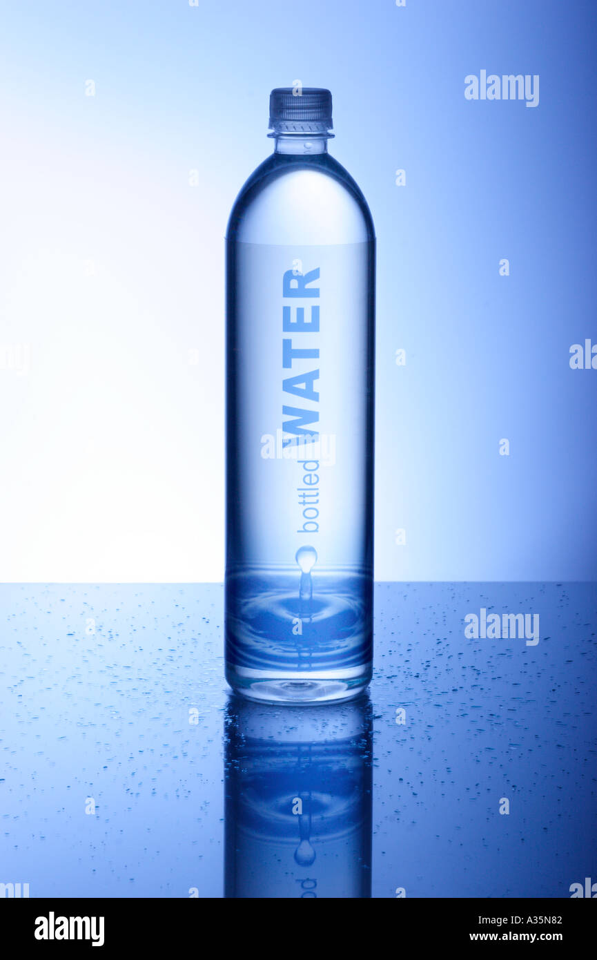 Water Bottle - Stock Image